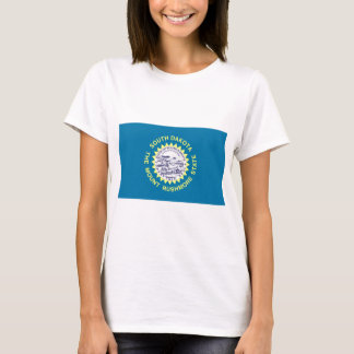 T-shirt International de DRAPEAU du Dakota du Sud