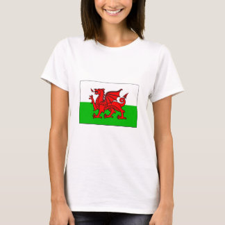 T-shirt International de DRAPEAU du Pays de Galles