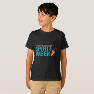 T-shirt international de semaine d'esprit de