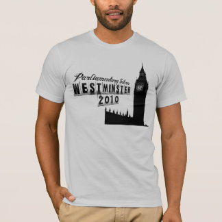 T-shirt Interne parlementaire - Westminster 2010