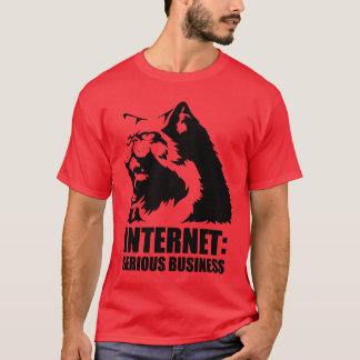 T-shirt Internet : Affaires sérieuses (T-shirt drôle de