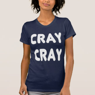 T-shirt Internet blanc Memes de Cray Cray