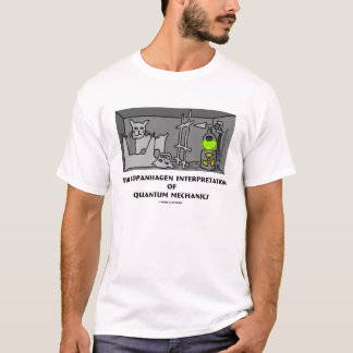 T-shirt Interprétation de Copanhagen de la mécanique