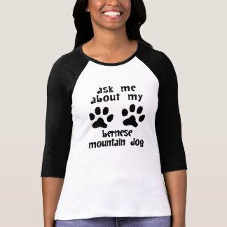 T-shirt Interrogez-moi au sujet de mon chien de montagne