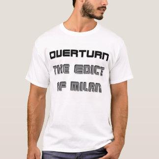 T-shirt Intolérance d'interdiction