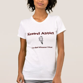 T-shirt Intoxiqué de crécerelle