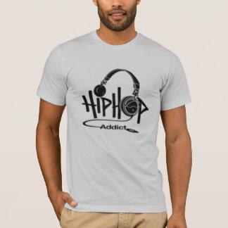 T-shirt intoxiqué de hip hop