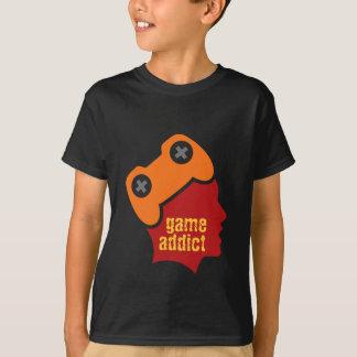 T-shirt Intoxiqué de jeu