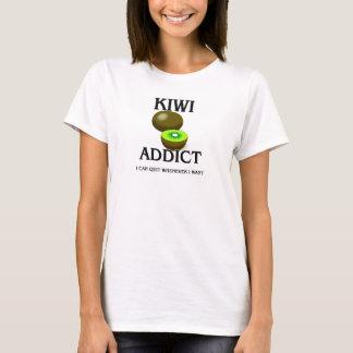 T-shirt Intoxiqué de kiwi