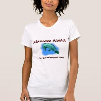 T-shirt Intoxiqué de lamantin