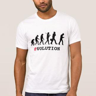 T-shirt Intoxiqué drôle de Smartphone d'évolution