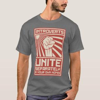 T-shirt Introverts unissent séparément dans vos propres