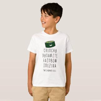T-shirt Inuzuka qui est comment nous roulons. Enfants