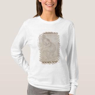 T-shirt Inv. 5211-75 homme à genoux de recto de Fawkener