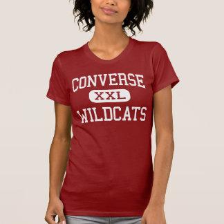 T-shirt Inverse - chats sauvages - haute - la Louisiane
