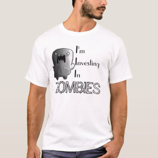 T-shirt Investissez dans les zombis