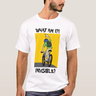 T-shirt invisible de cycliste