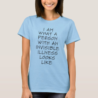 T-shirt invisible de maladie