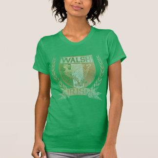 T-shirt irlandais de crête de Walsh