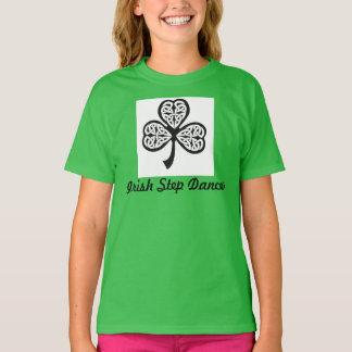 T-shirt irlandais de danseur d'étape - jeunesse M