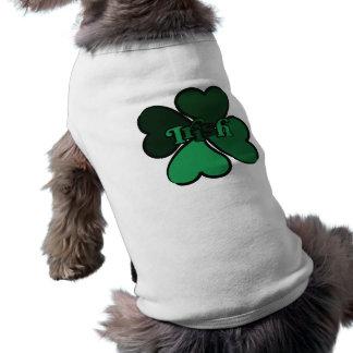 T-shirt Irlandais de shamrock