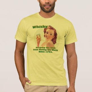 T-shirt irlandais de whiskey