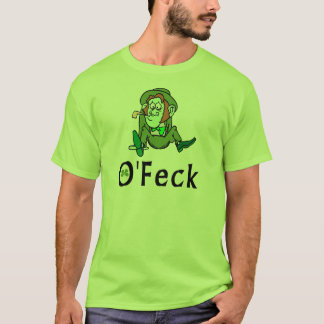 T-shirt irlandais drôle d'O'Feck