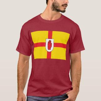 T-shirt irlandais écossais de drapeau (Ulster)