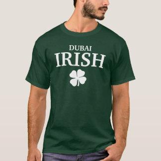T-shirt irlandais fait sur commande fier de ville