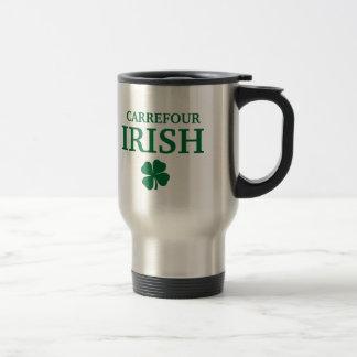 T-shirt irlandais fait sur commande fier de ville  tasses