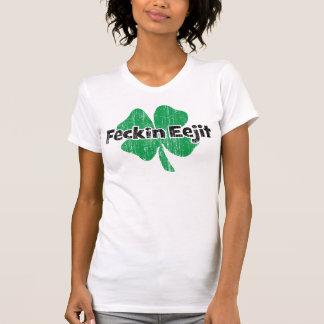 T-shirt Irlandais Feckin Eejit