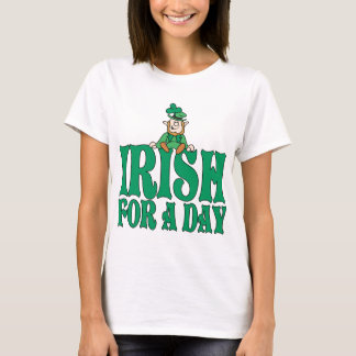 T-shirt Irlandais pour un lutin de jour