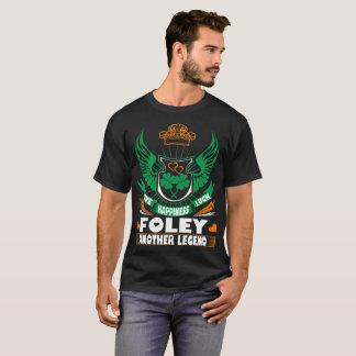 T-shirt Irlandais St Patrick de légende de Foley de chance