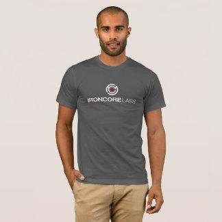 T-shirt IronCore de base T sur gris-foncé