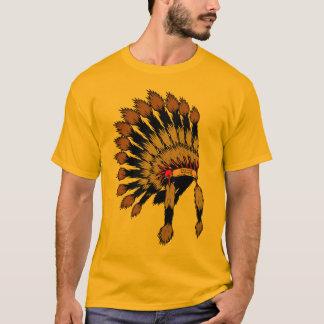 T-shirt Iroquois war bannet