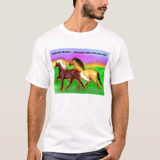 T-shirt Islandais d'arc-en-ciel