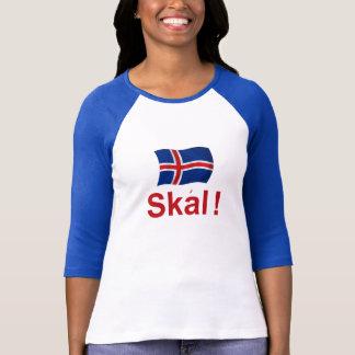 T-shirt Islandais Skal ! (Acclamations)