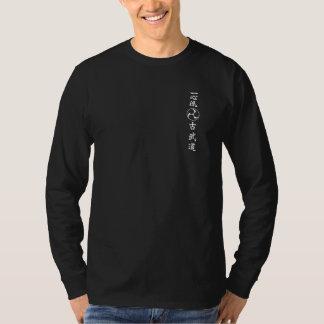 T-shirt Isshinryu carat, Joshinkan, bras long Shirt, black