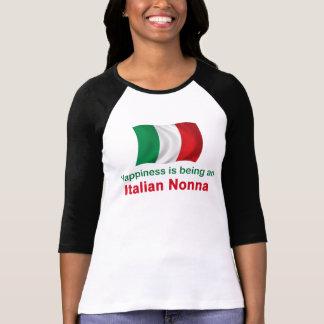 T-shirt Italien heureux Nonna