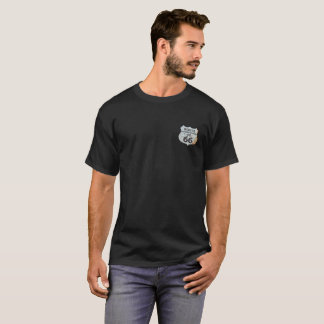 T-shirt Itinéraire 66 le signe de brique de route de mère