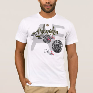T-shirt IV l'Afghanistan-W