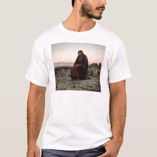 T-shirt Ivan Kramskoy- le Christ dans la région sauvage -