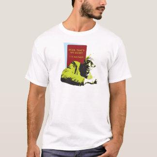 T-shirt J.D. Receveur de Salinger dans l'art de bruit de