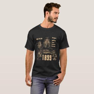 T-SHIRT J.H. BREVET TUBULAIRE DE LA CHEMISE 1899 DE