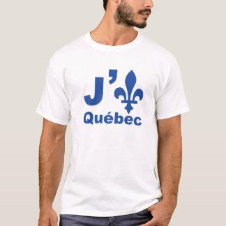 T-shirt J (lys) Québec