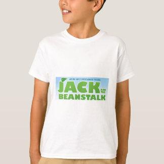 T-shirt Jack et le logo de tige de haricot