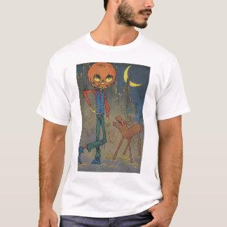 T-shirt Jack Pumpkinhead et le chevalet de sciage