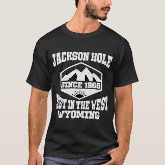 T-SHIRT JACKSON HOLE MEILLEUR AU WYOMING OCCIDENTAL DEPUIS