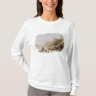 T-shirt Jacques Cartier découvrant le St Lawrence