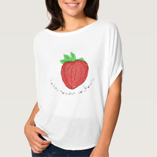 T-Shirt J'adore ramener ma fraise